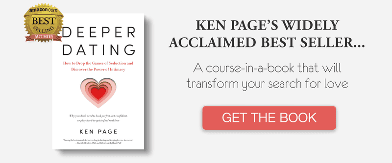 Discover more about the three stages of deeper dating in Ken's book